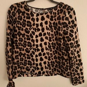 Never worn Leopard blouse!